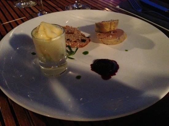 Restaurant Peron: foie gras