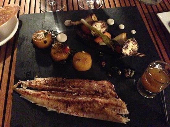 Restaurant Peron: Sole meunière