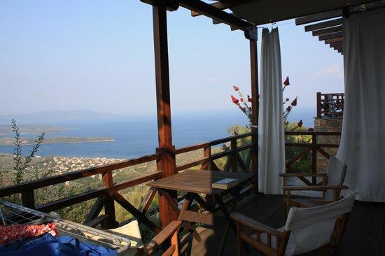 Esperos Pelion: our balcony