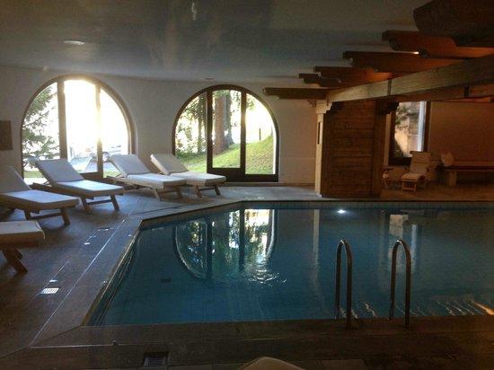 Hotel Rosatsch: La piscine