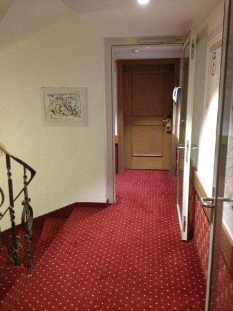 Hotel Rosatsch: Les parties communes résidence