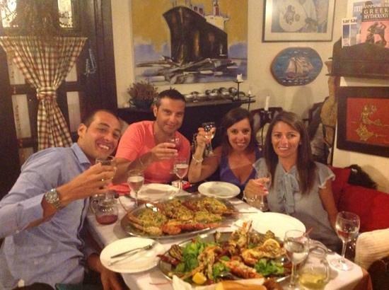 Restaurant Alexander : con amici