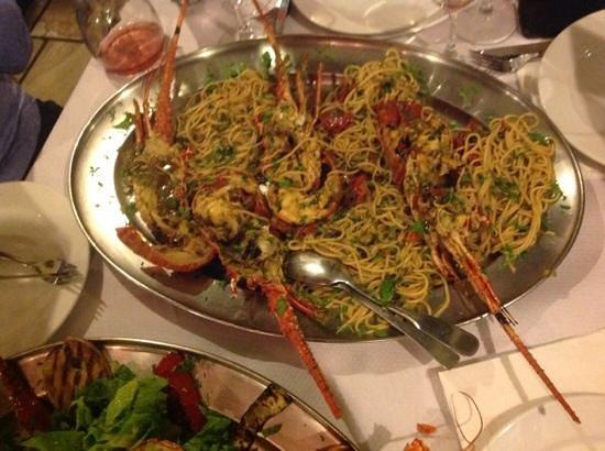 Restaurant Alexander : aragosta time