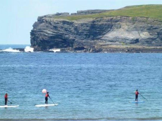 Nevsail Watersports : Supping in Kilkee