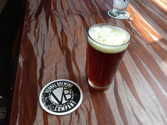 Vernal Brewing Company: Nice and cold