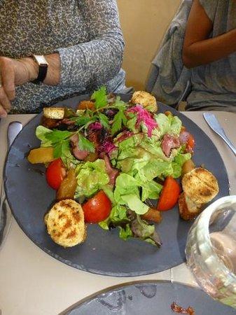 Creperie Les Tilleuls : une merveille de salade