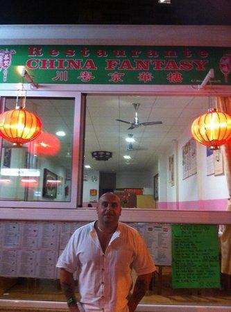 China Fantasy Benidorm: Front of the Restaurant.