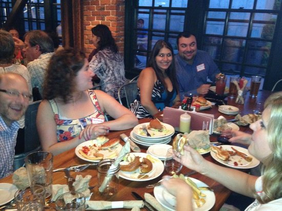 Brave Horse Tavern: Great food enjoyed by all