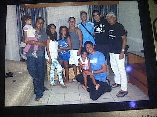 Caribbean Palm Village Resort: Con la Familia y los Amigos en la Habitacion