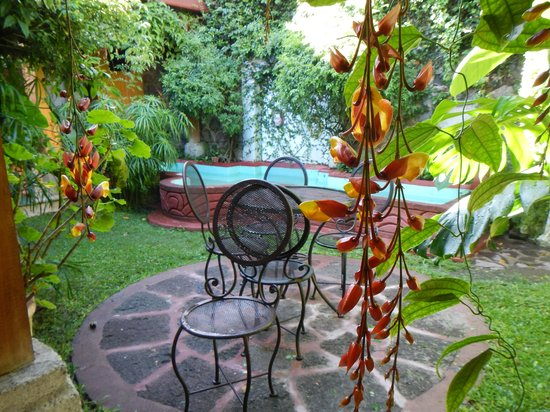 Hotel Casa Antigua: one of a few fountains
