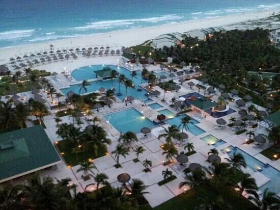 Iberostar Cancun: from our room on top floor
