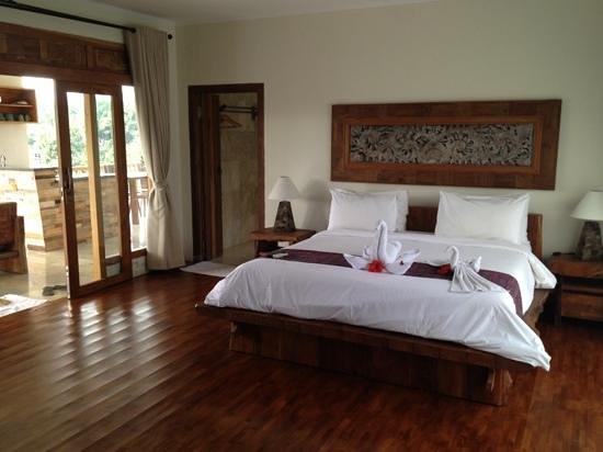 Sri Ratih Cottages: notre grande chambre