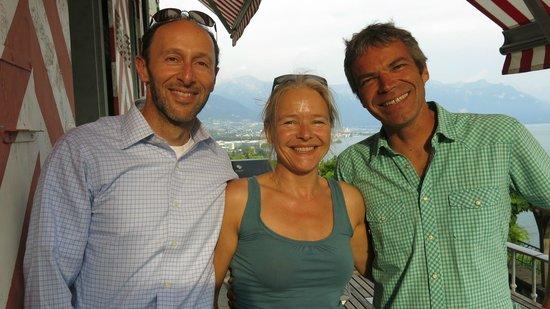 Domaine du Burignon: Our wonderful hosts ;)