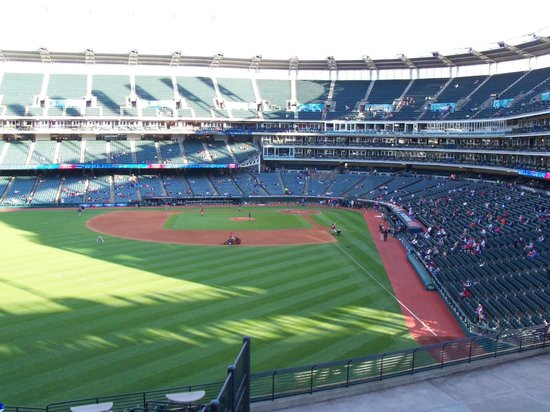 Progressive Field : View From the Bleachers
