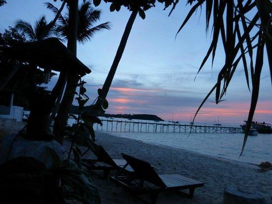 Samui Pier Resort: Vue de la chambre