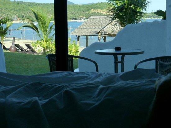 Samui Pier Resort: Vue depuis la chambre 20
