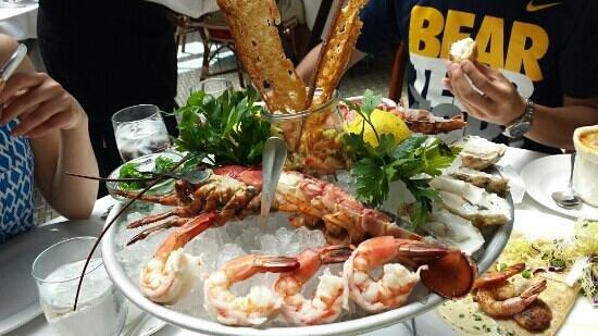 the seafood palate - Picture of Mon Ami Gabi, Las Vegas