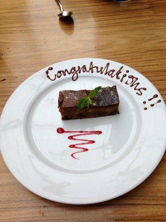 Cinnamon Kitchen: Thanks guys, nice touch..