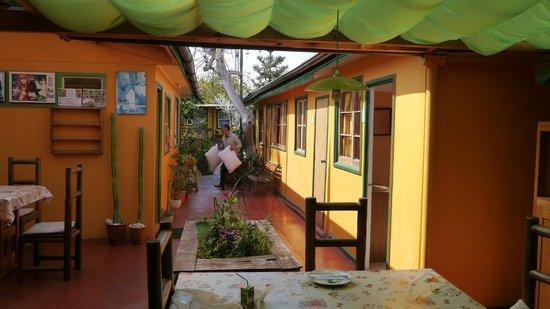 hostal maria casa: Espace commun