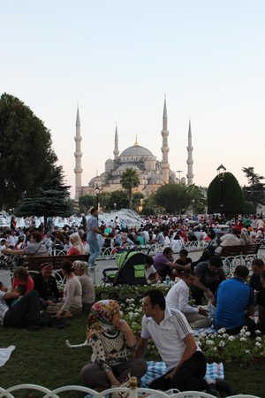 Hotel Sultan: Blue Mosque