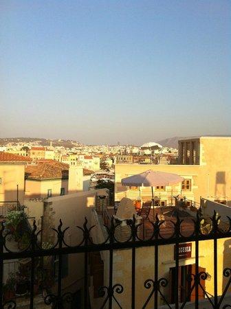 Silde Apartments : Vista dalla camera