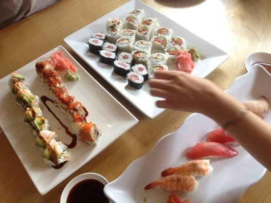Great Sushi Picture Of Origami New Orleans Tripadvisor