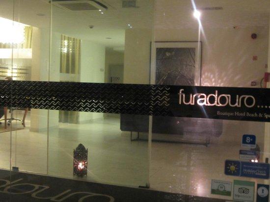 Furadouro Boutique Hotel Beach & SPA: entrada hotel