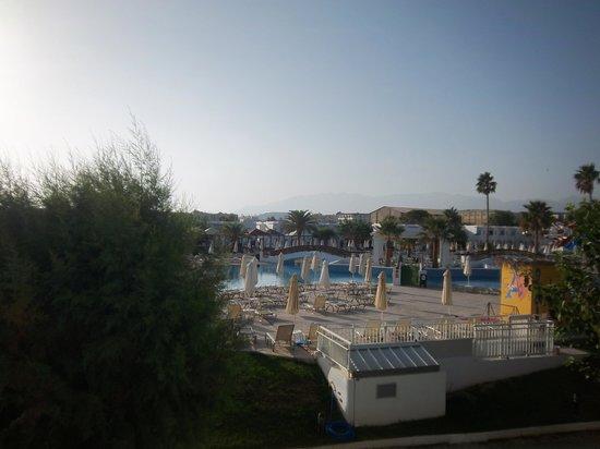 Louis Creta Princess Beach Hotel : View of pool from Balcony Room 636