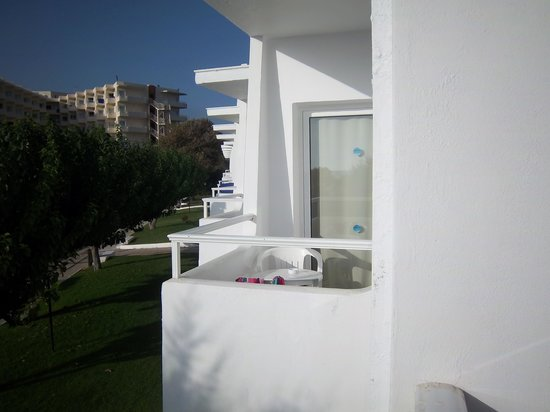 Louis Creta Princess Beach Hotel : Usual Balcony (our room)