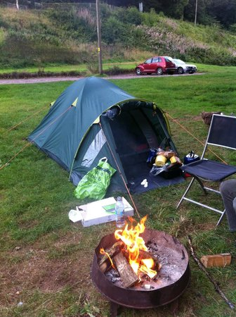 Priory Mill Farm Campsite: Camping with style at Priory Mill Farm