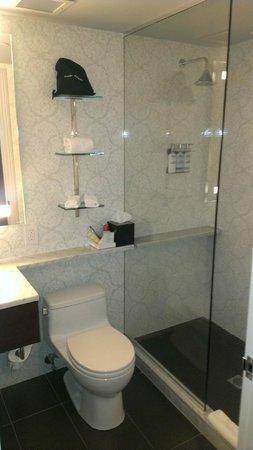 The Roger: Bathroom shower