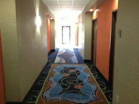 Comfort Inn Lee's Summit @ Hwy 50 & Hwy 291: HALLWAY/CORRIDOR