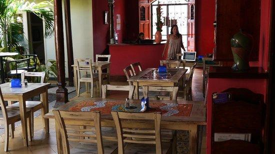 Hotel El Club: Frühstücksbereich