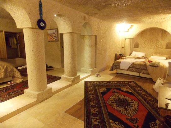 Dervish Cave House : nuestra habitación