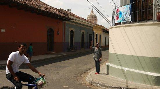 Hotel El Club: Blick aus dem Hotel