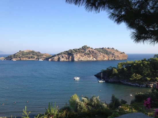 SENO Resort Sarigerme : Blick vom Hotel aufs Meer