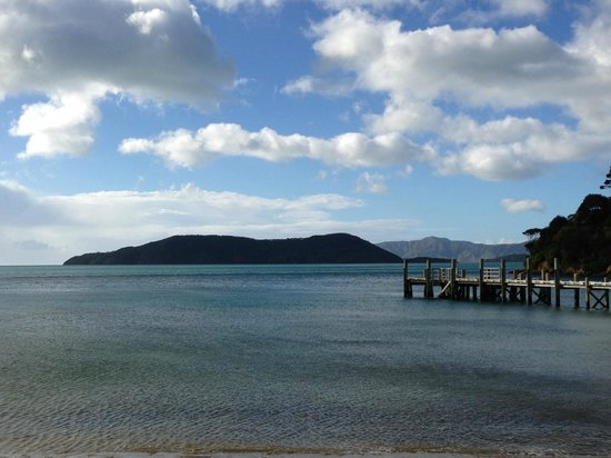Queen Charlotte Track: Start of the walk