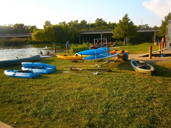 White Rock Lake Park: Kayak Place