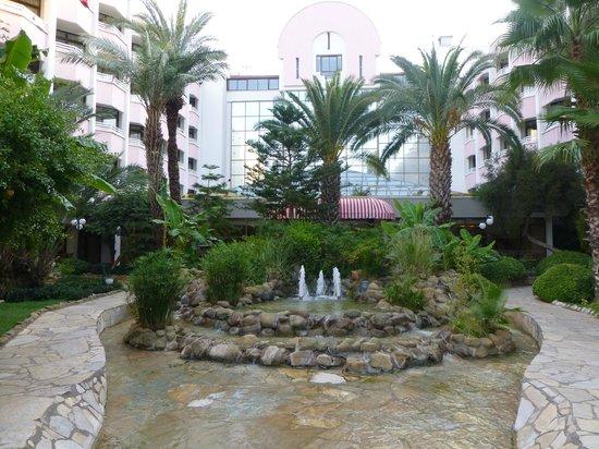 Hotel Aqua: Grounds