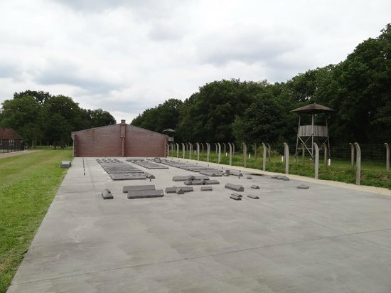 Nationaal Monument Kamp Vught: Overzicht kampgebouwen