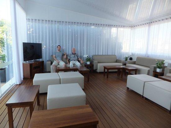 Almudaina Hotel: Terrace lounge
