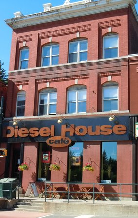 Exterior of Diesel House Cafe