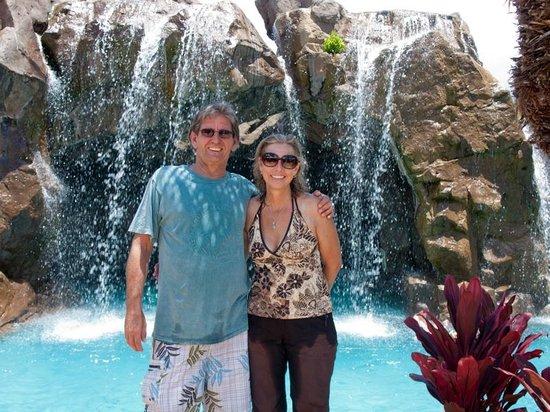 Wailea Beach: Grand Wailea  waterfall