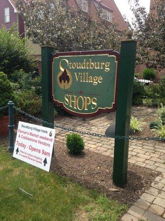 Stoudtburg Village : Village Sign