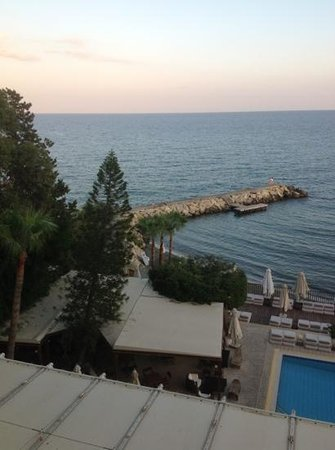 Londa Hotel: View from room 304.