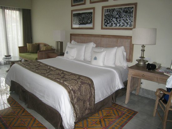Sudamala Suites & Villas: de prachtige slaapkamer