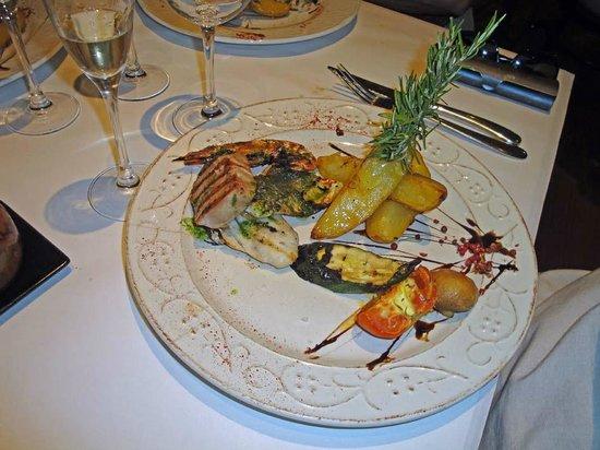 Restaurant L'Oganpetit: Pescado