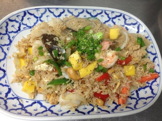 Joy Thai Cuisine: Seafood Fried Rice