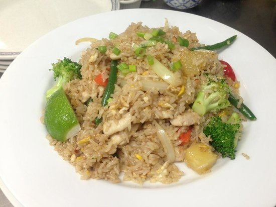 Joy Thai Cuisine: Pineapple Fried Rice w/Chicken