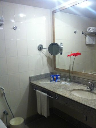 Melia Brasil 21: banheiro